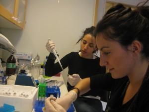 Sofia, en el laboratorio sueco