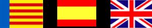 Bandera idiomas atención