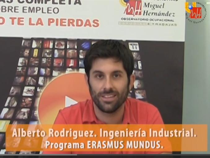 Alberto Rodríguez Erasmus Mundus