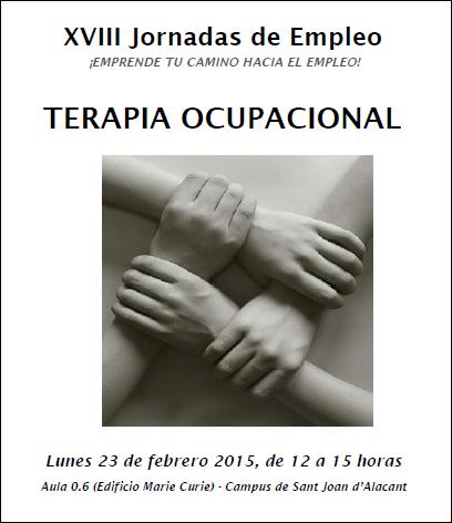 JE Terapia Ocupacional 2015