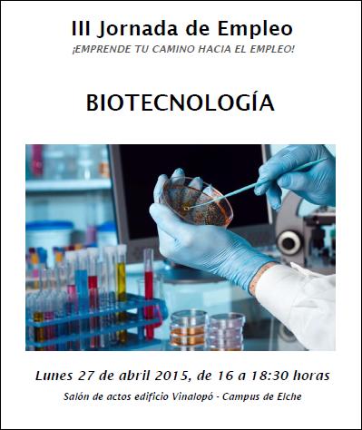 JE Biotecnología 2015