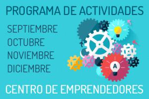Programa Actividades Centro Emprendedores Alicante 2015