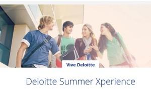 Deloitte Summer Xperience