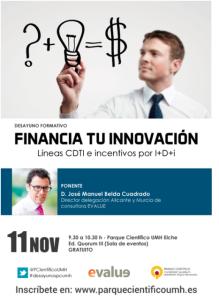 Taller Financia tu Innovación