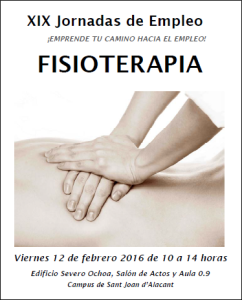 2016-02-12 Jornada Empleo Fisioterapia