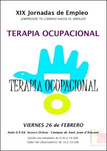 Jornada Empleo Terapia Ocupacional 2016